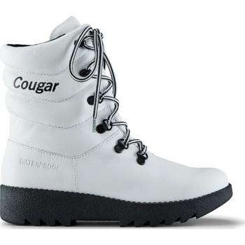 Topánky Ženy Polokozačky Cougar 39068 Original2 Leather  biely