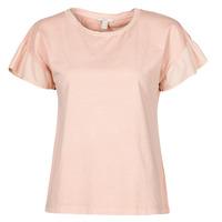 Oblečenie Ženy Tričká s krátkym rukávom Esprit T-SHIRTS Ružová