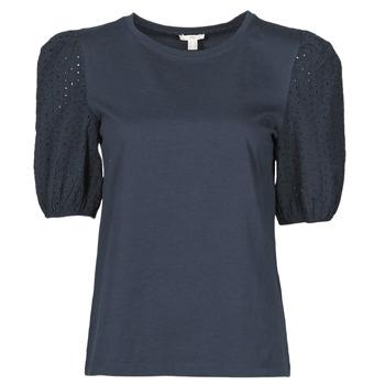 Oblečenie Ženy Tričká s krátkym rukávom Esprit T-SHIRTS Čierna