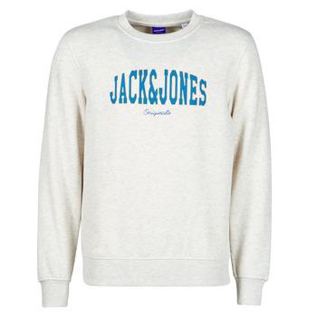 Oblečenie Muži Mikiny Jack & Jones JORHART Biela