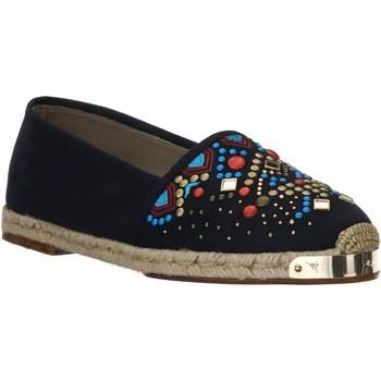 Topánky Ženy Espadrilky Giuseppe Zanotti E66084 NAVY beige