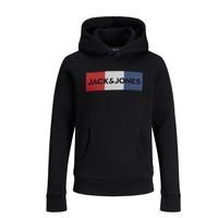 Oblečenie Chlapci Mikiny Jack & Jones JJECORP LOGO PLAY SWEAT Čierna