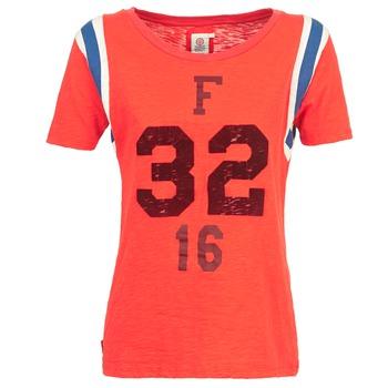 Oblečenie Ženy Tričká s krátkym rukávom Franklin & Marshall POINTO Koralová