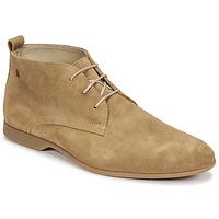 Topánky Muži Polokozačky Carlington EONARD Béžová