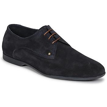 Topánky Muži Derbie Carlington EMILAN Námornícka modrá