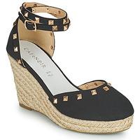 Topánky Ženy Sandále Café Noir NOEL Čierna