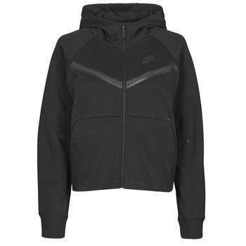 Oblečenie Ženy Vrchné bundy Nike NSTCH FLC WR ESSNTL FZ HDY Čierna