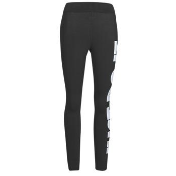 Oblečenie Ženy Legíny Nike NSESSNTL GX HR LGGNG JDI Čierna / Biela