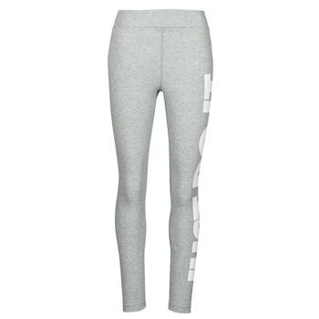 Oblečenie Ženy Legíny Nike NSESSNTL GX HR LGGNG JDI Šedá / Biela