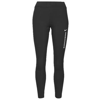 Oblečenie Ženy Legíny Nike NSSWSH LGGNG HR Čierna / Biela