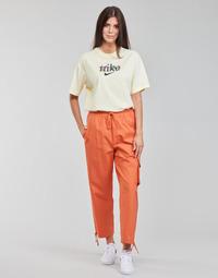 Oblečenie Ženy Tepláky a vrchné oblečenie Nike NSICN CLASH PANT CANVAS HR Hnedá / Oranžová