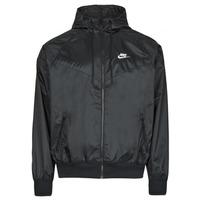 Oblečenie Muži Vetrovky a bundy Windstopper Nike NSSPE WVN LND WR HD JKT Čierna / Biela