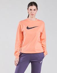 Oblečenie Ženy Tričká s dlhým rukávom Nike NSICN CLSH LS TOP HBR Ružová / Fialová