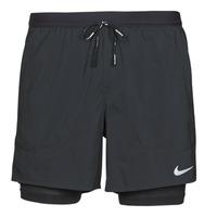 Oblečenie Muži Šortky a bermudy Nike DF FLX STRD 2IN1 SHRT 5IN Čierna