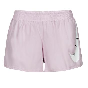 Oblečenie Ženy Šortky a bermudy Nike SWOOSH RUN SHORT Fialová  / Biela