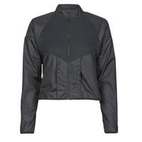Oblečenie Ženy Vetrovky a bundy Windstopper Nike RUN DVN TOP MID Čierna / Zlatá