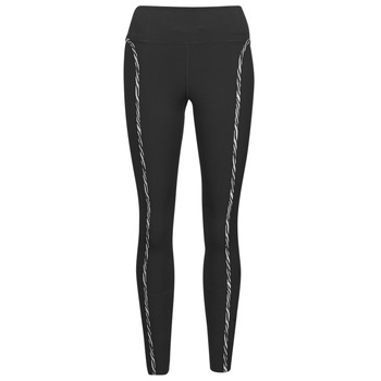 Oblečenie Ženy Legíny Nike NIKE ONE LUXE ICNCLSH TGT Čierna / Fialová