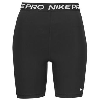 Oblečenie Ženy Šortky a bermudy Nike NIKE PRO 365 SHORT 7IN HI RISE Čierna / Biela