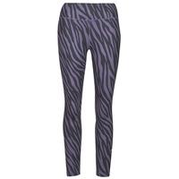 Oblečenie Ženy Legíny Nike NIKE ONE 7/8 AOP TGT ICNCLSH Fialová  / Čierna