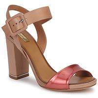 Topánky Ženy Sandále Eva Turner  Bronzová / červená