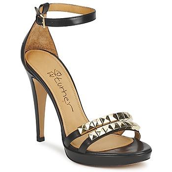 Topánky Ženy Sandále Eva Turner  čierna