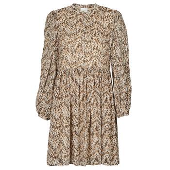 Oblečenie Ženy Krátke šaty Vila VISUNARA Béžová