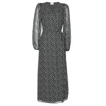 Oblečenie Ženy Dlhé šaty Vila VICELIMA Čierna