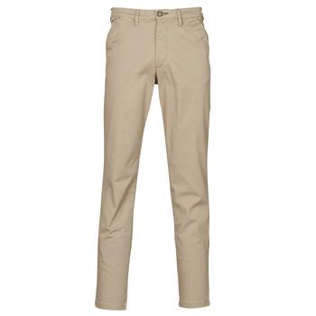 Oblečenie Muži Nohavice Chinos a Carrot Selected SLHSLIM-MILES FLEX Béžová