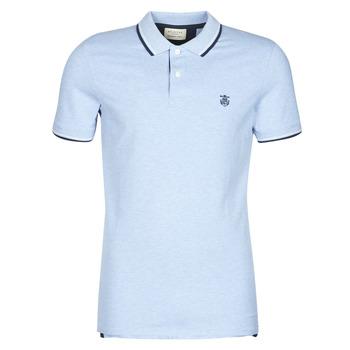 Oblečenie Muži Polokošele s krátkym rukávom Selected SLHNEWSEASON Modrá