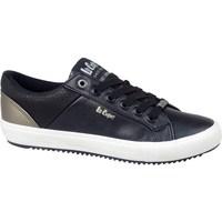 Topánky Muži Nízke tenisky Lee Cooper LCJL2031041 Čierna, Zlatá