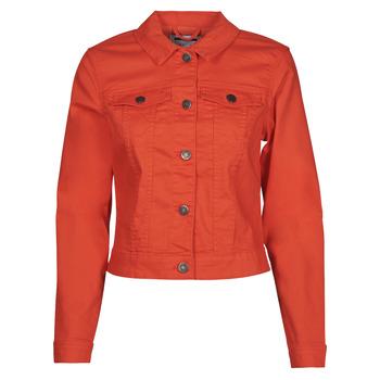 Oblečenie Ženy Džínsové bundy Noisy May NMDEBRA Červená