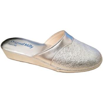 Topánky Ženy Šľapky Milly MILLY4200arg grigio