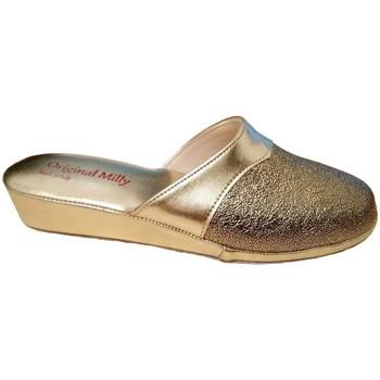 Topánky Ženy Šľapky Milly MILLY4200oro grigio