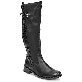Topánky Ženy Čižmy do mesta Rieker  Čierna