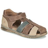Topánky Chlapci Sandále Citrouille et Compagnie FRINOUI Hnedá