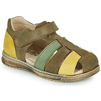 Topánky Chlapci Sandále Citrouille et Compagnie FRINOUI Kaki