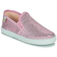 Topánky Dievčatá Balerínky a babies Citrouille et Compagnie OBILA Ružová