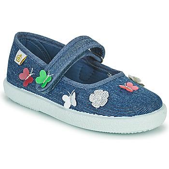 Topánky Dievčatá Balerínky a babies Citrouille et Compagnie OXINA Jeans