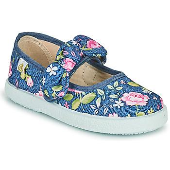 Topánky Dievčatá Balerínky a babies Citrouille et Compagnie OZETTE Jeans