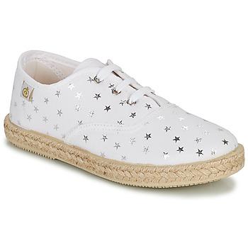 Topánky Dievčatá Nízke tenisky Citrouille et Compagnie OUAKA Strieborná