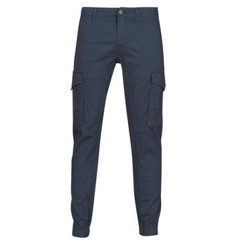 Oblečenie Muži Nohavice Cargo Jack & Jones JJIPAUL Námornícka modrá