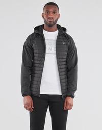 Oblečenie Muži Vyteplené bundy Jack & Jones JJEMULTI Čierna