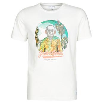 Oblečenie Muži Tričká s krátkym rukávom Jack & Jones JORDAAYS Biela