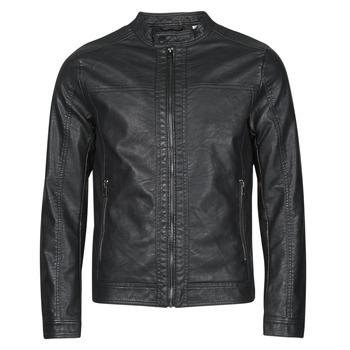 Oblečenie Muži Kožené bundy a syntetické bundy Jack & Jones JJEWARNER Čierna