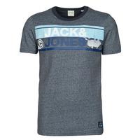 Oblečenie Muži Tričká s krátkym rukávom Jack & Jones JCONICCO Námornícka modrá