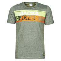 Oblečenie Muži Tričká s krátkym rukávom Jack & Jones JCONICCO Kaki