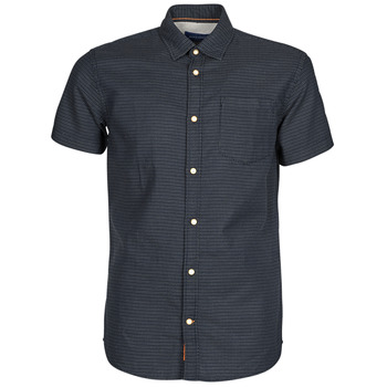 Oblečenie Muži Košele s krátkym rukávom Jack & Jones JORABEL Námornícka modrá