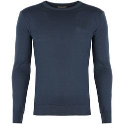 Oblečenie Muži Svetre Roberto Cavalli  Modrá
