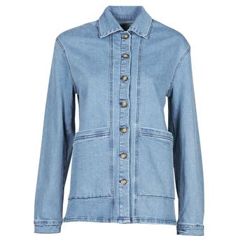 Oblečenie Ženy Džínsové bundy Betty London OVEST Modrá / Medium