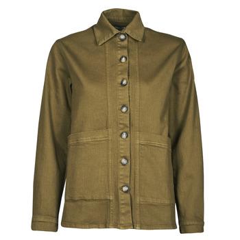 Oblečenie Ženy Džínsové bundy Betty London OVEST Kaki